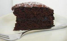Pig in the Kitchen: Gluten free Chocolate Cake (egg-free, dairy-free, gluten-free)