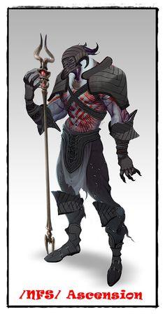 lNFSl Ascension - Alamarri Warlord Heroes Of Dragon Age, Darth Vader, Fictional Characters, Fantasy Characters