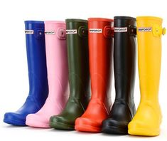women rainboots fashion knee-high tall rain boots england style waterproof welly boots rubber rainboots water shoes rainshoes is on sale at a factory price of $45.23 in hannah124 online store for rain boots on DHgate platform.