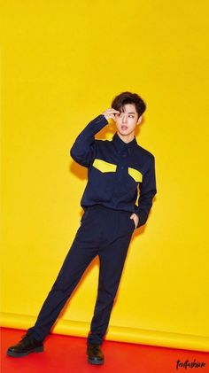 Yellow aesthetic wallpaper of Hongseok Hyuna, E Dawn, Kpop, Cube Entertainment, Social Platform, Pop Group, Types Of Fashion Styles, Celebrities, Twitter