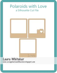 A freebie Silhouette Cut File from Laura - Happy Anniversary to Us and You!