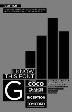 gotham type poster #inspirationv2020m12