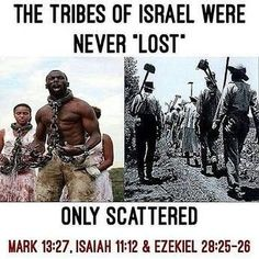 Black History Facts, Black History Month, Mundo Cruel, Black Hebrew Israelites, 12 Tribes Of Israel, Tribe Of Judah, Bible Knowledge, Bible Truth, Thing 1