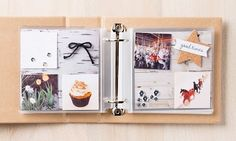 The So You album has great neutral colors, making your photos the focal point.