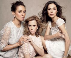 Maya Rudolph, Kristen Wigg and Rose Byrne