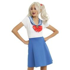 Sailor Moon Adult Womens Dress - 412178 | trendyhalloween.com