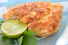 Coconut Chicken - I made this in strips instead of the whole chicken breast. The kids loved it and asked for seconds and thirds.