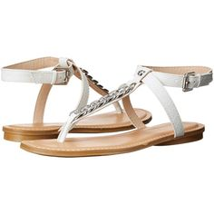 Womens Sandals GUESS Gurri White Synthetic