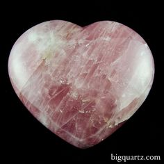 4.5 pound Rose Quartz heart from Madagascar. Rose quartz is associated with the heart chakra and is known to be the crystal of unconditional love. Wearing it, meditating with it and keeping it near is believed to open the heart up to all kinds of love: romantic love, love of family and friends, and love of self. Though rose quartz has a high energy like other kinds of quartz, it gives off a soothing and calming vibe. #crystal #heart #quartz