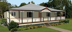House plans on pinterest kit homes new home builders for Classic queenslanders house plans