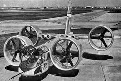 Bell X-22 V.T.O.L Prototype. 1966