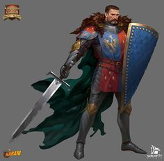 Character for Kings of the realm: kingsoftherealm.com/,www.facebook.com/pages/Kings-o…