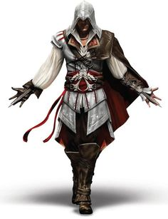 If you& into Assassin& Creed, you probably recognize this Corky. It& Ezio Auditore, from Assassin& Creed I put crammed as many details as I could into this Corky, trying to resemble Ezio as well as possible. Here& how to make your assassin. Assassins Creed 2, Tatuajes Assassins Creed, Assassins Creed Odyssey, Assains Creed, All Assassin's Creed, Assassin's Creed Wallpaper, Marvel Wallpaper, Assassin's Creed Hidden Blade, Gaming Tattoo