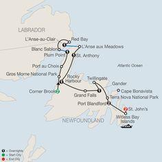 Travel to eastern Canada & tour, St. Canada Tours, Canada Travel, Newfoundland Canada, Newfoundland And Labrador, Tour Quotes, L'anse Aux Meadows, Nova Scotia Travel, Gros Morne, East Coast Road Trip
