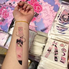 66 Ideas for skin art aesthetic Anime Tattoos, Body Art Tattoos, Tatoos, Kawaii Tattoos, 16 Tattoo, Aesthetic Tattoo, Inspiration Tattoos, Cool Tats, Piercing Tattoo