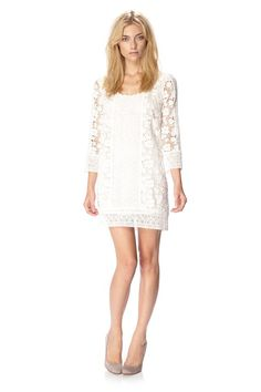 In Bloom Crochet Dress £150.00