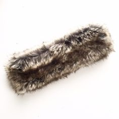 Mossimo Faux Fur Headband Excellent condition. One size fits most. First picture filtered. No trades or PayPal please don't ask. Mossimo Supply Co. Accessories Hats