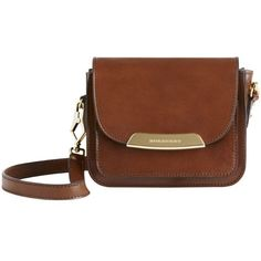 Burberry Bridle Leather Crossbody Bag found on Polyvore