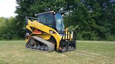 2005 Caterpillar 257B Compact Track Skid Loader Diesel Engine Heavy Machinery