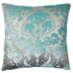 Our Juliette Pillows give a nod to the elaborate style of the Victorian era with their embossed antique fabric that is flocked with soft velvet emboldened in rich colors.  Mix up these vintage pillows in a modern setting. $59.95