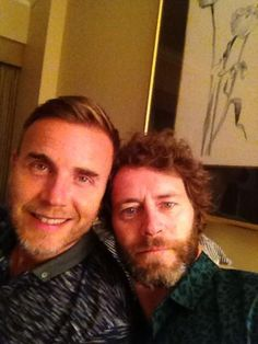 Howard & Gary From British music group Take That Love Is All, Take That, Howard Donald, Wake Up With You, Gary Barlow, Every Man, Forever Love, Sweet Memories, Great Bands