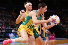 netball world cup australia vs south africa. sharni layton