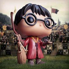 Gryffindor wins. #harrypotter #quidditch #funko #funkopop #popvinyl #funkotree #popwars #funkomania #colecfunkopopbr