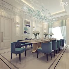 Private Palace interior design | Abu Dhabi | UAE |