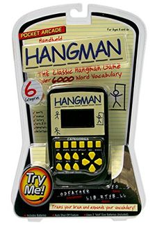 Kids' Handheld Games - Pocket Arcade Electronic Hangman Game *** You can get more details by clicking on the image.