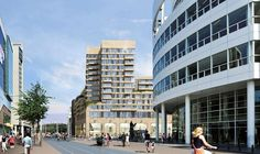 Op een unieke locatie, midden in het centrum van Den Haag (op de hoek Spui en Kalvermarkt) verrijst momenteel een markante gebouw van 51 meter hoog. In de uit drie bouwlagen bestaande winkelplint komt de Ierse kledingketen Primark. Daarboven worden verdeeld over elf woonlagen 76 comfortabele topappartementen gerealiseerd, 36 koop- en 40 huurappartementen inclusief parkeerplaats.