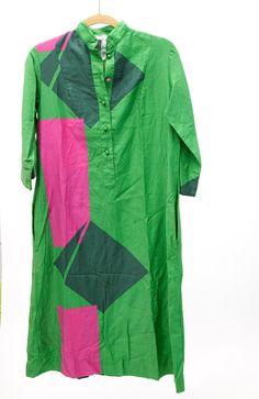 Vintage Catherine Ogust Tunic Shirt Dress by VintageCommon on Etsy, $45.00