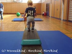 Turnen mit Kleinkind, Bewegung für Kleinkinder