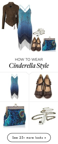 """""""Untitled #2919"""" by roseunspindle on Polyvore featuring mode, Haute Hippie en Disney"""