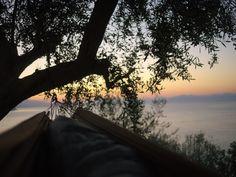 Amalfi Coast hammock spot