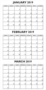 January Month Calendar 2019 Free Download Free Download Calendar