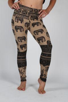 Elephant Leggings - One Tribe Apparel