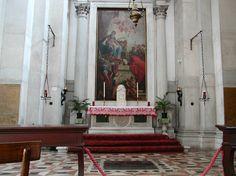 San Giorgio Maggiore - Venice, Italy   'Virgin and Saints' by Sebastiano Ricci