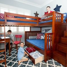 L-Shaped-Twin-Beds-Kids-Beach