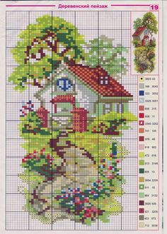 1 million+ Stunning Free Images to Use Anywhere Cross Stitch House, Cross Stitch Cards, Cross Stitch Borders, Cross Stitch Flowers, Cross Stitching, Cross Stitch Embroidery, Funny Cross Stitch Patterns, Cross Stitch Designs, Cross Stitch Geometric