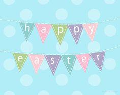 Easter Bunting Printable