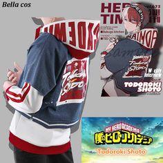Hot sales Anime My hero academia Todoroki Shoto cosplay costume weekly interview coat pants hoodies accessories daily uniform - AliExpress Mobile Todoroki Cosplay, Cosplay Outfits, Anime Outfits, Cool Outfits, Nerd Outfits, Tomboy Outfits, Anime Cosplay, My Hero Academia Costume, My Hero Academia Shouto