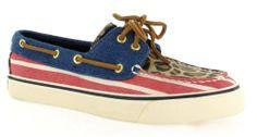 Bootschoenen met luipaard detail van Sperry. €69,95 #sperry #bootschoenen #voorjaar