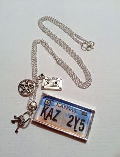 Hey, I found this really awesome Etsy listing at https://www.etsy.com/listing/172570886/supernatural-impala-license-plate