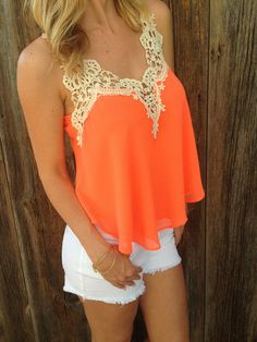 Flowy Crochet Top