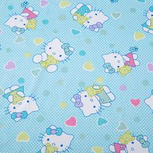 1 meter blue cat cotton fabric for sewing,soft cloth for baby bedding,dress and so on,width (Mainland)) Hello Kitty Backgrounds, Beds For Sale, Blue Cats, Baby Sewing, Sewing Crafts, Cotton Fabric, Arts And Crafts, Kids Rugs, Cartoon