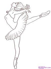 Ideas y material gratis para fiestas y celebraciones Oh My Fiesta!: Plantillas de ballet. Fiestas infantiles.