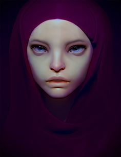 Kai Fine Art is an art website, shows painting and illustration works all over the world. Alien Character, Character Art, Character Modeling, Kai, Alien Girl, Raven Art, Digital Painting Tutorials, Soul Art, Creature Concept