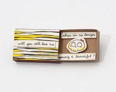 Funny Anniversary Love Card Matchbox/ Gift box / door shop3xu