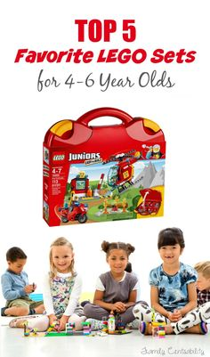 Top 5 LEGO Sets for 4-6 year olds - saving this list for Christmas/birthdays!