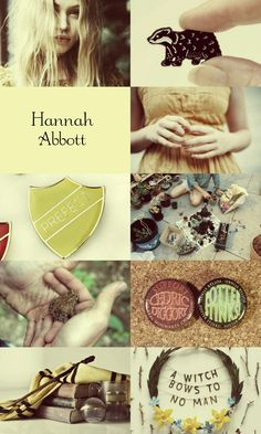 Hannah Abbott from Harry Potter